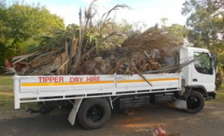 Light Truck Tipper Hire 1