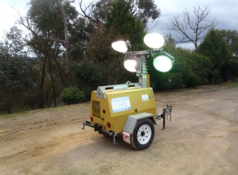 Lighting Towers Mobile Lighting Portable 3