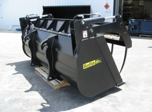 Loader Silage Bucket Grapple 1