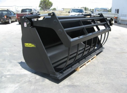 Loader Silage Bucket Grapple 2