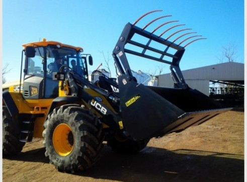 Loader Silage Bucket Grapple 3