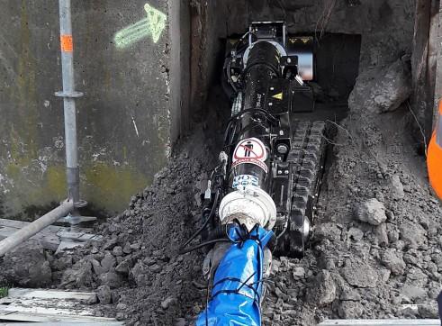 Lombrico S Vacuum Excavation ROV 1