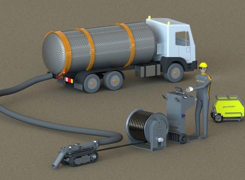 Lombrico XXS Vacuum Excavation ROV 3