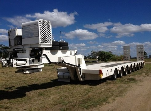 Low Loader - Quad Axle & 9x8 Platform 2