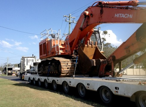 Low Loader - Quad Axle & 9x8 Platform 3