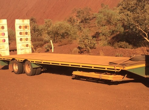 Low Loader Tag Float - 16.5T payload 1