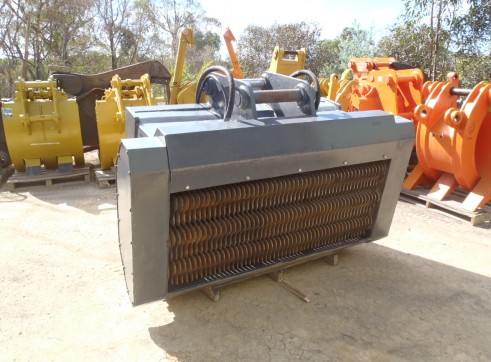 Machinery Attachments Buckets Tilt Sieve Screening Mud Trenching Rock 3