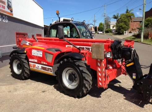 Manitou 1840 telehandler for hire 2