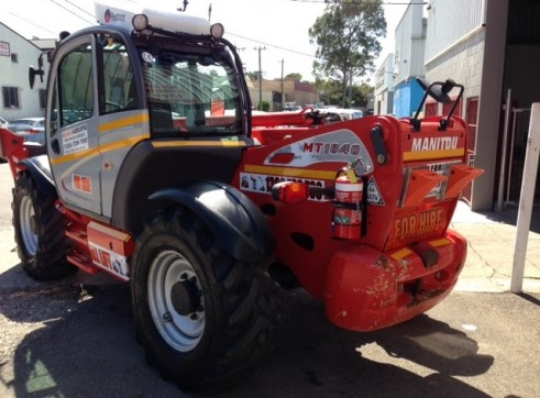 Manitou 1840 telehandler for hire 3