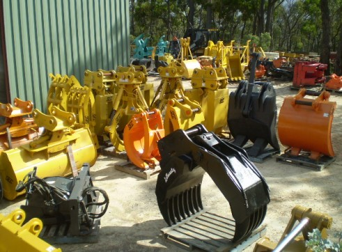 Manual & Hydraulic Grabs 3 ton - 80 ton HIRE OR SALE