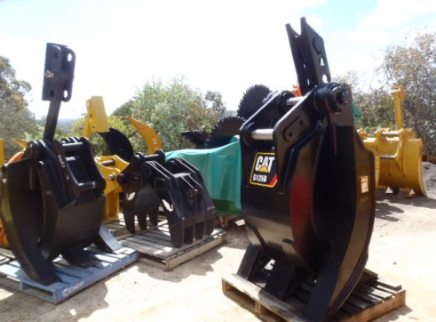 Manual & Hydraulic Grabs 3 ton - 80 ton HIRE OR SALE 2