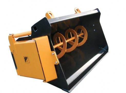 Materials Auger Bucket 1