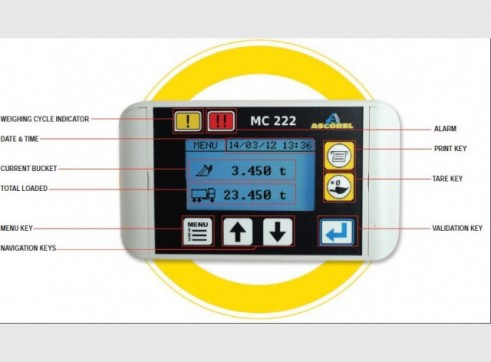 MC 222 Onboard Weighing System 1