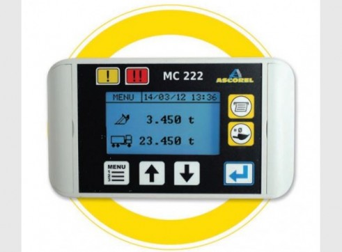 MC 222 Onboard Weighing System 2
