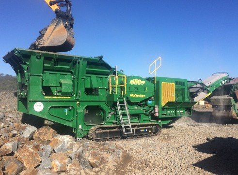 McCloskey jaw crusher 1