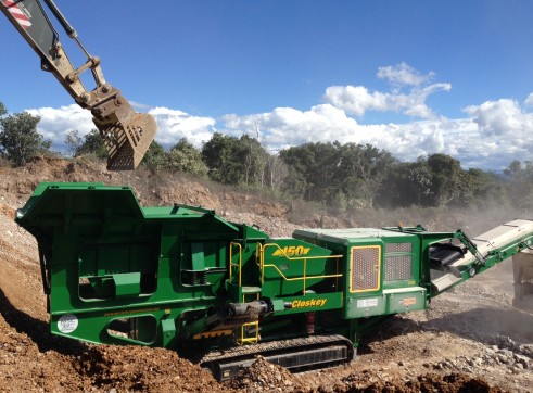 McCloskey jaw crusher 2