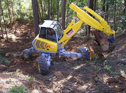 Menzi A91 Spider Excavator 1
