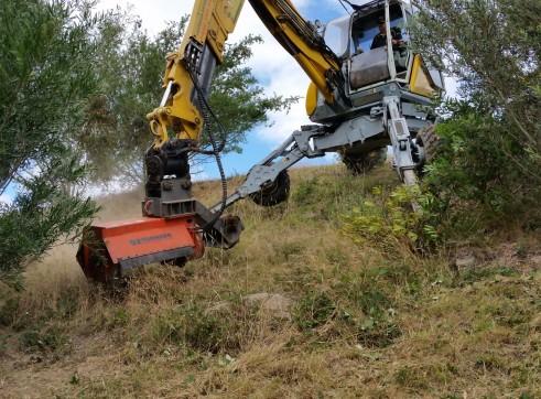 Menzi Muck A91C Spider Excavator 3