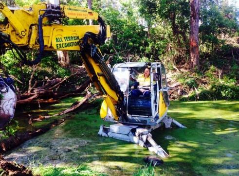 Menzi Muck A91C Spider Excavator 4