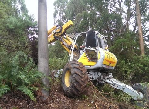 Menzi Muck A91C Spider Excavator 5