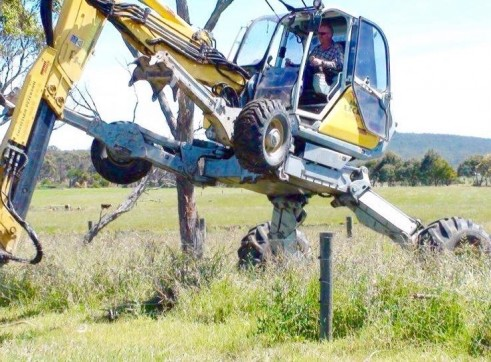 Menzi Muck A91C Spider Excavator 6