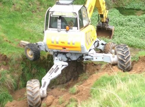 Menzi Muck A91C Spider Excavator 7