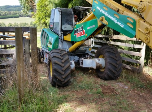 Menzi Muck A91C Spider Excavator 9