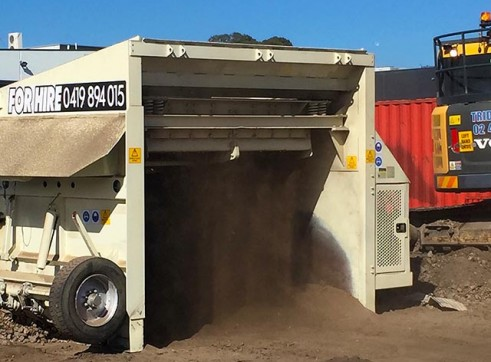 Metso Nordberg CV40 Portable Screening Plant - compact size 5