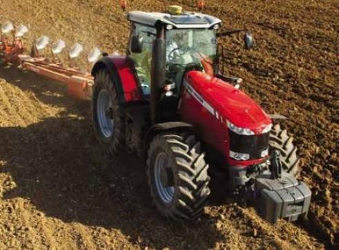 MF8600 Series Massey Ferguson Tractor 4