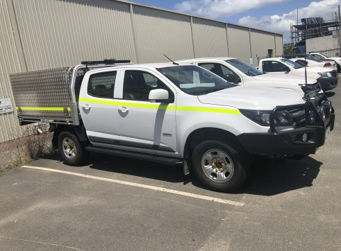 Mine Spec Twin Cab Utes with Large Tool Box 1