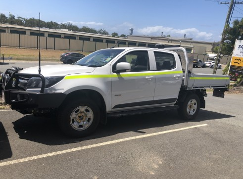 Mine Spec Twin Cab Utes with Large Tool Box 3