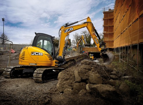 Mini Excavator - JCB 8085 8mt 1