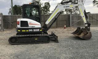 E45 Excavator 1