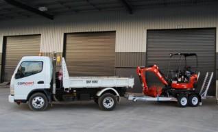 Mini Tipper   Mini Skid Steer   Mini Excavator COMBO Package  1
