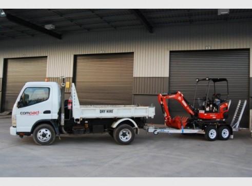 Mini Tipper | Mini Skid Steer | Mini Excavator COMBO Package  1