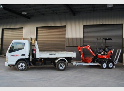 Mini Tipper | Mini Skid Steer | Mini Excavator COMBO Package  1