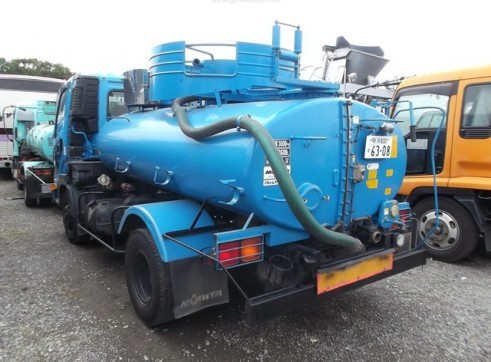 Mitsubishi Vacuum and High Pressure Jetting Truck 2