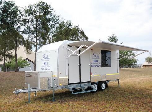 Mobile Crib / Amenity Van 17