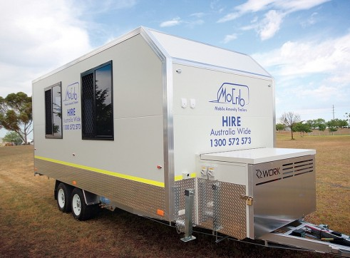Mobile Crib / Amenity Van 2