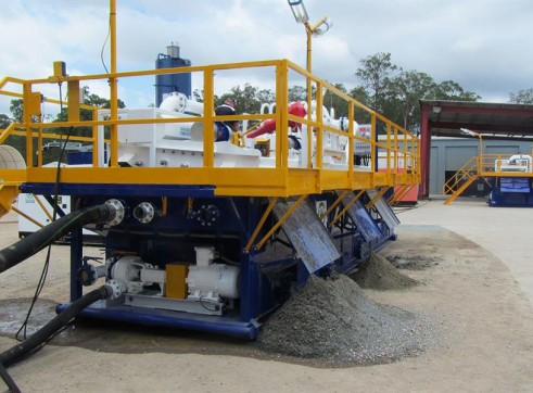 Mobile Dewatering / Drying Equipment 1