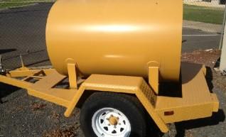 Mobile diesel tank 1