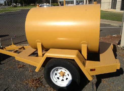 Mobile Diesel Tank For Hire In Moulamein Nsw 2733