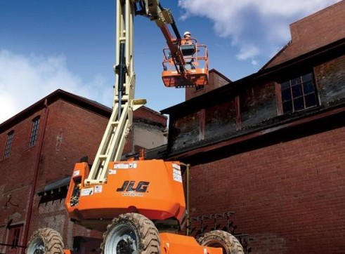 Mobile Knuckle Boom - 10.6m (34ft) Diesel Jlg 1