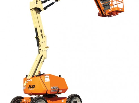 Mobile Knuckle Boom - 10.6m (34ft) Diesel Jlg 3