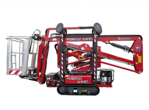 Mobile Knuckle Boom - 12m (39ft) Petrol-electric Tracks 1
