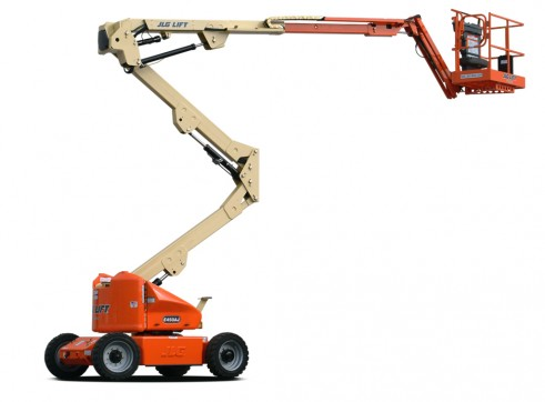 Mobile Knuckle Boom - 13.9m (45ft) Electric Jlg 1