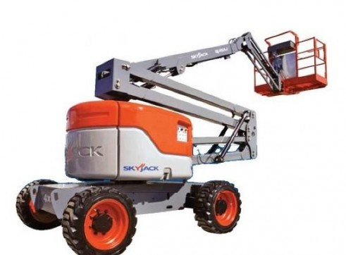 Mobile Knuckle Boom - 15.5m (51ft) Diesel Skyjack 1