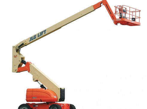 Mobile Knuckle Boom - 18.5m (61ft) Diesel Jlg 1