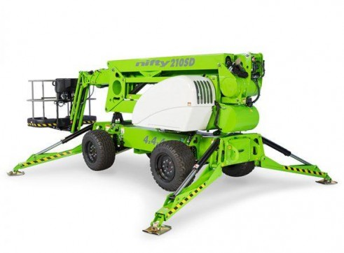 Mobile Knuckle Boom - 19m (63ft) Diesel Nifty (Stabilised) 1
