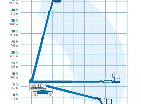 Mobile Straight Boom - 14m (45ft) Diesel Genie 3